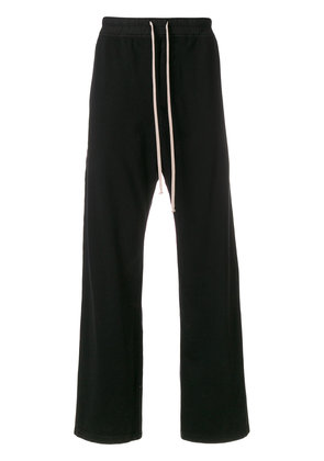 Rick Owens DRKSHDW loose fit trousers - Black
