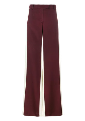 Valentino colour block palazzo pants - Red
