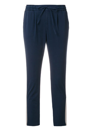 Barba cropped track pants - Blue