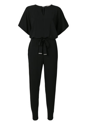 Michael Michael Kors clasp neck jumpsuit - Black
