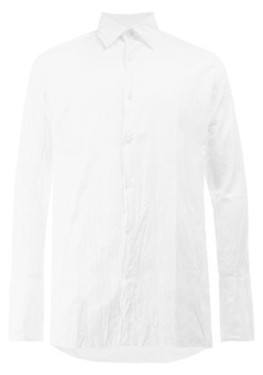 Wales Bonner creased shirt - White