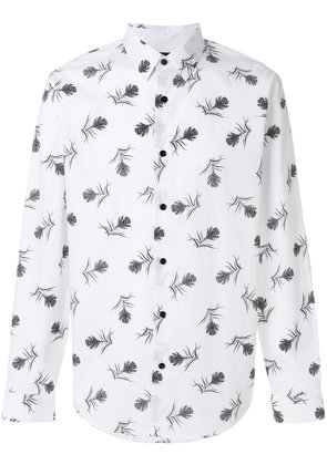 Theory feather print shirt - White