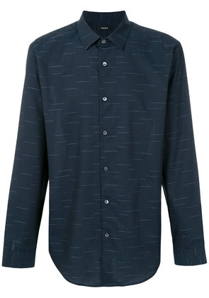 Theory dash pattern shirt - Blue