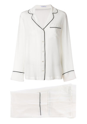 Equipment shirt and trousers - White