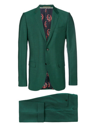 Gucci Monaco two piece suit - Green