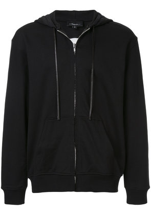 3.1 Phillip Lim wolf print zipped hoodie - Brown