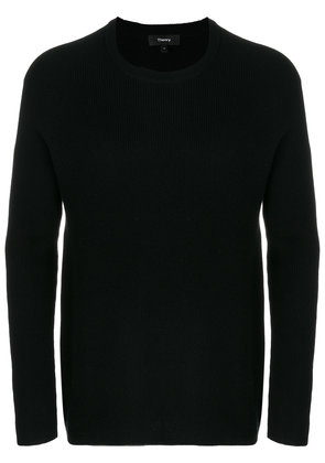 Theory ribbed raglan sweater - Black