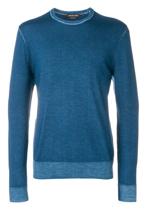 Michael Michael Kors crew neck sweater - Blue