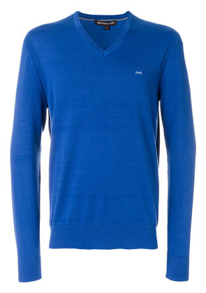 Michael Michael Kors V-neck sweater - Blue