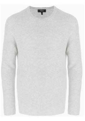 Theory ribbed raglan sweater - Grey