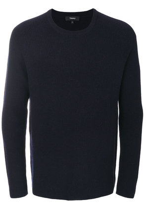 Theory ribbed raglan sweater - Blue