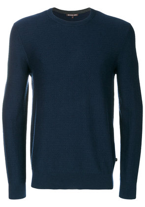 Michael Michael Kors crew neck jumper - Blue
