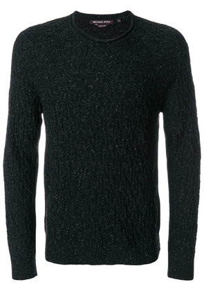 Michael Michael Kors textured knit sweater - Black