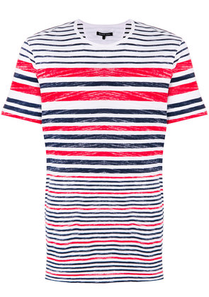 Michael Michael Kors striped crew-neck T-shirt - White