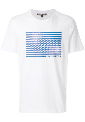 Michael Michael Kors graphic-print T-shirt - White