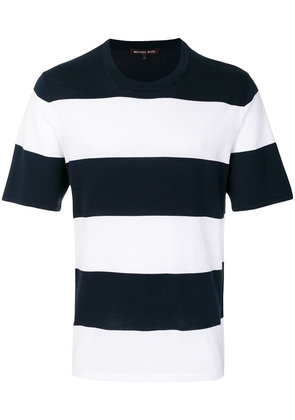 Michael Michael Kors striped crew-neck T-shirt - Blue
