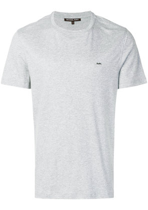 Michael Michael Kors logo-embroidered T-shirt - Grey