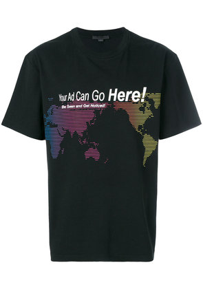 Alexander Wang Your Ad Can Go Here T-shirt - Black