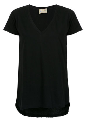 Andrea Bogosian v-neck T-shirt - Black