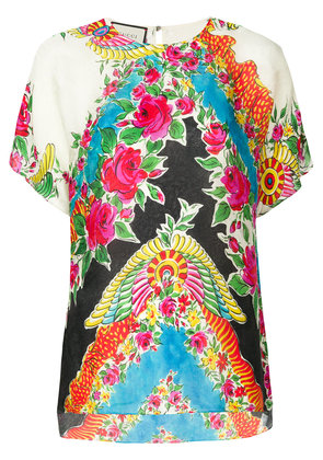 Gucci floral print blouse - Multicolour