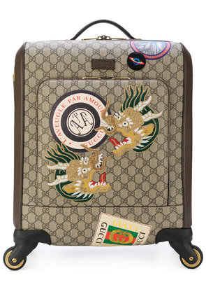 Gucci Gucci Courrier GG Supreme carry-on - Brown