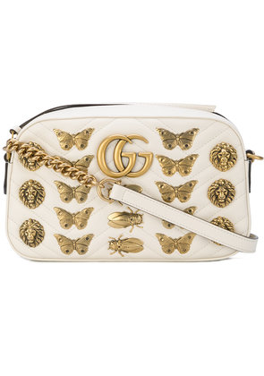 Gucci GG Marmont crossbody bag - White