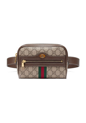 Gucci brown Ophidia GG Supreme small belt bag - Nude & Neutrals