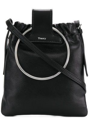 Theory Post shoulder bag - Black