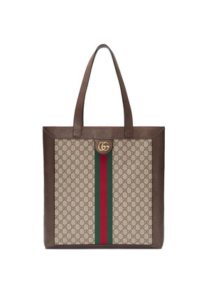 Gucci Ophidia soft GG Supreme large tote - Brown