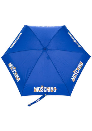 Moschino Super Mini bear umbrella - Blue