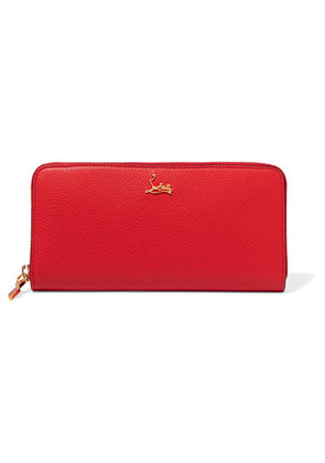 Christian Louboutin - Panettone Textured-leather Continental Wallet - one size