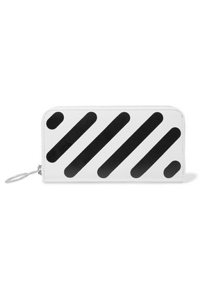 Off-White - Printed Textured-leather Wallet - one size