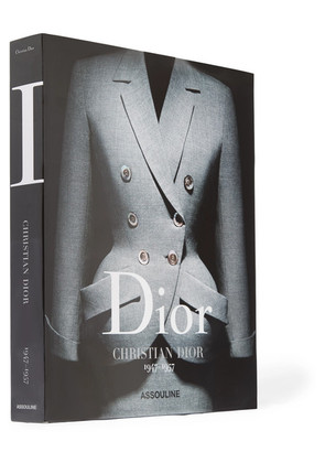 Assouline - Dior: Christian Dior 1947-1957 By Olivier Saillard Hardcover Book - Black