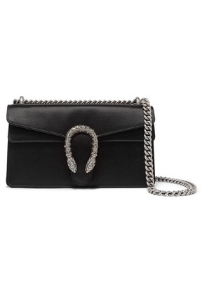 Gucci - Dionysus Satin Shoulder Bag - Black