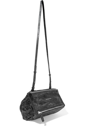 Givenchy - Mini Pandora Bag In Washed-leather - Black