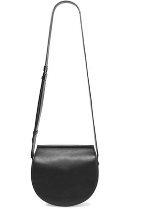 Givenchy - Infinity Mini Chain-trimmed Leather Shoulder Bag - Black
