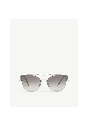 Scenique Mu52S butterfly-frame sunglasses