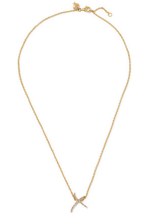 Stephen Webster - + Tracey Emin Kiss 18-karat Gold Diamond Necklace - one size
