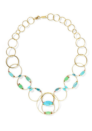 Ippolita - Prisma 18-karat Gold Multi-stone Necklace - one size