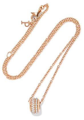 Piaget - Possession 18-karat Rose Gold Diamond Necklace - one size