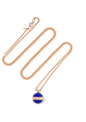 Piaget - Possession 18-karat Rose Gold, Lapis Lazuli And Diamond Necklace - one size