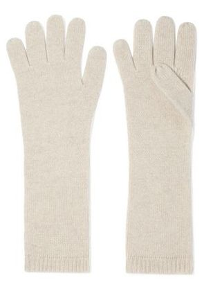 Duffy Woman Cashmere Gloves Cream Size ONESIZE