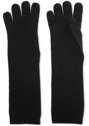 Duffy Woman Cashmere Gloves Black Size ONESIZE