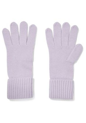 N.peal Woman Cashmere Gloves Lilac Size ONESIZE