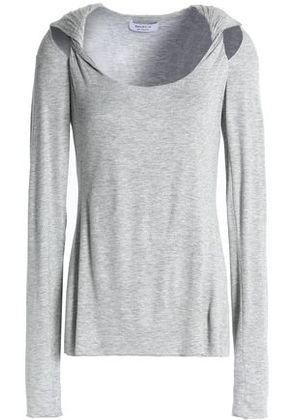 44 claro Twisted gris Tamaño Stretch Cutout Bailey Top Jersey Woman Xs dqwPRU