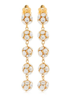 EVA LONG CLIP-ON EARRINGS