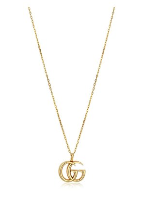 18KT YELLOW GOLD GG NECKLACE
