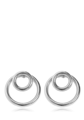 LARGE DOUBLE O-RING EARRINGS