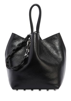 ROXY TEXTURED SOFT LEATHER TOTE BAG
