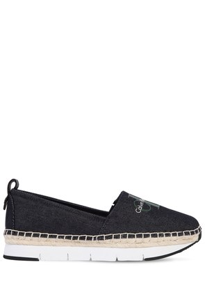 30MM GENNA COTTON CANVAS SNEAKERS